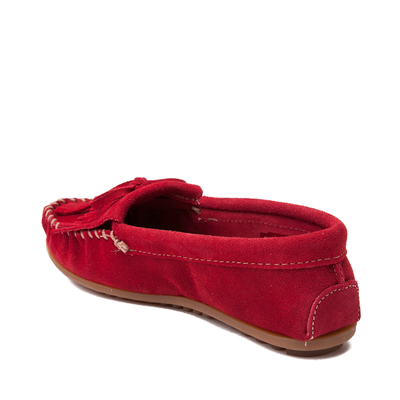 Alternate view of Womens Minnetonka Kilty Casual Shoe - Red