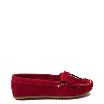 Main view of Womens Minnetonka Kilty Casual Shoe - Red