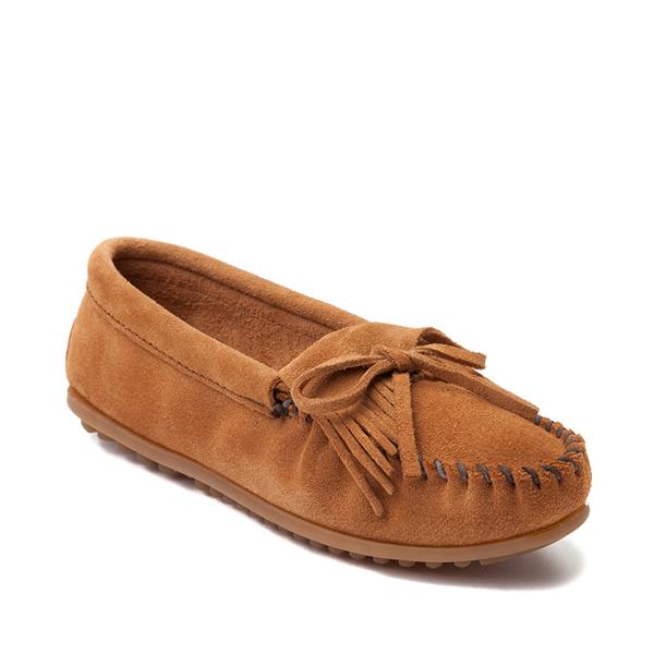 alternate view Womens Minnetonka Kilty Casual Shoe - TaupeALT5