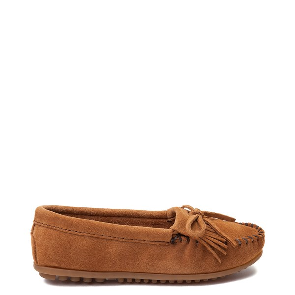 Womens Minnetonka Kilty Casual Shoe - Taupe