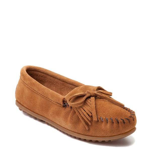 alternate view Womens Minnetonka Kilty Casual Shoe - TaupeALT1