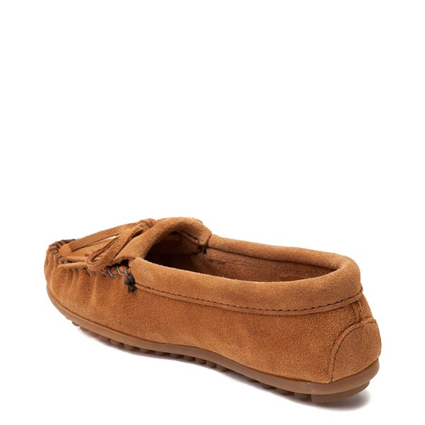 alternate view Womens Minnetonka Kilty Casual Shoe - TaupeALT2