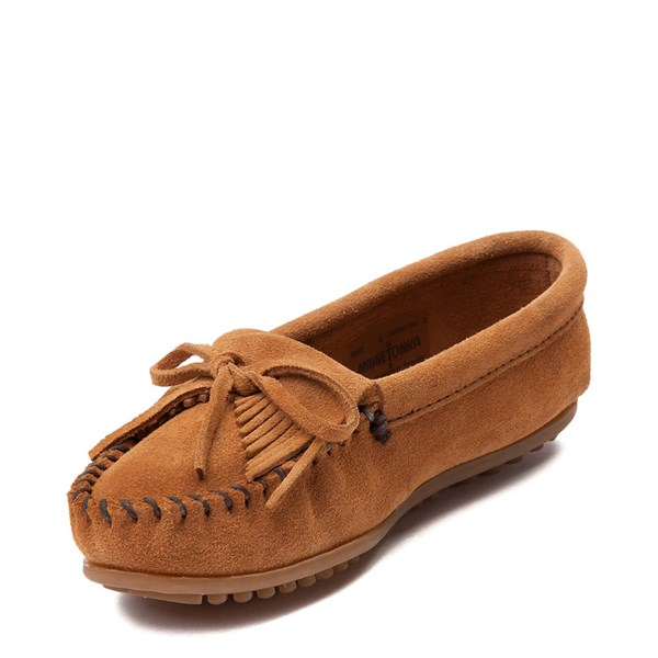 alternate view Womens Minnetonka Kilty Casual Shoe - TaupeALT3