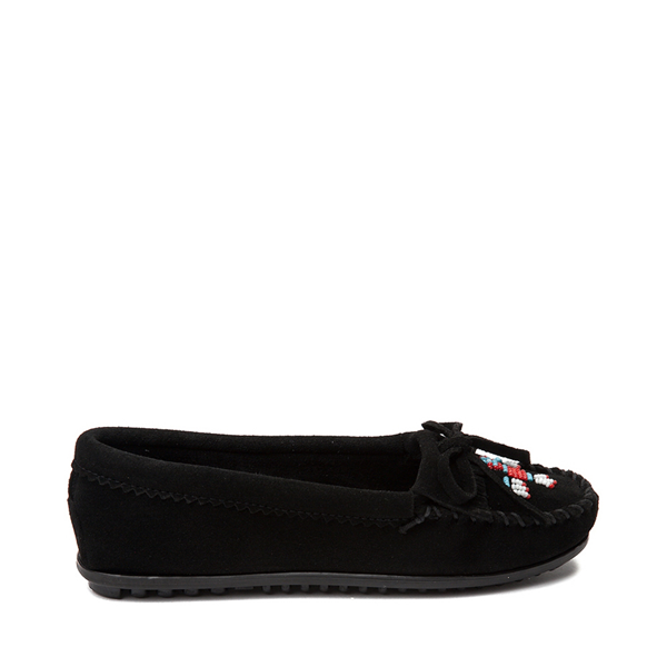 Womens Minnetonka Thunderbird 2 Casual Shoe - Black