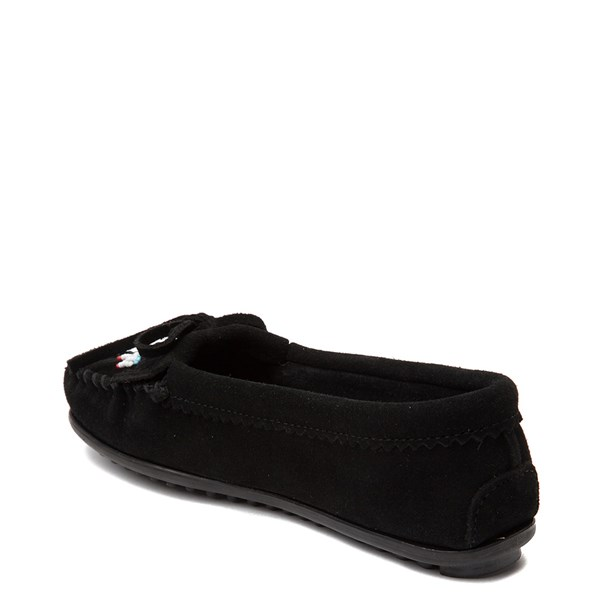 alternate view Womens Minnetonka Thunderbird 2 Casual Shoe - BlackALT2