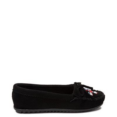 Main view of Womens Minnetonka Thunderbird 2 Casual Shoe - Black