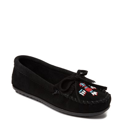 Alternate view of Womens Minnetonka Thunderbird 2 Casual Shoe - Black