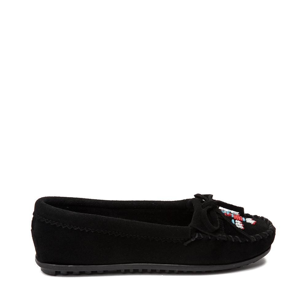 Womens Minnetonka Thunderbird 2 Casual Shoe - Black