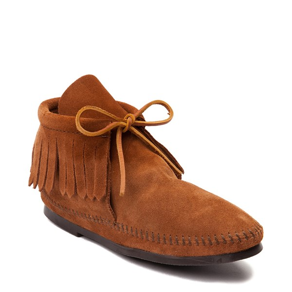 Alternate view of Womens Minnetonka Classic Fringe Boot
