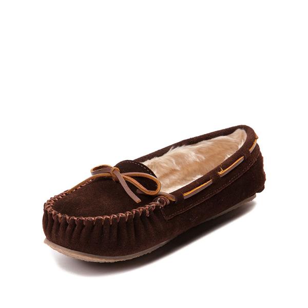 alternate view Womens Minnetonka Cally Casual Shoe - ChocolateALT2