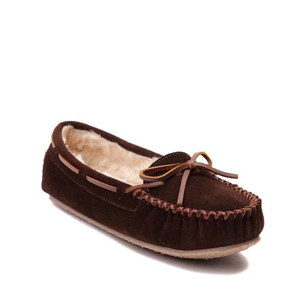alternate view Womens Minnetonka Cally Casual Shoe - ChocolateALT5
