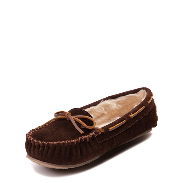alternate view Womens Minnetonka Cally Casual Shoe - ChocolateALT3