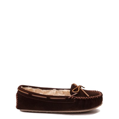 Main view of Womens Minnetonka Cally Casual Shoe - Chocolate