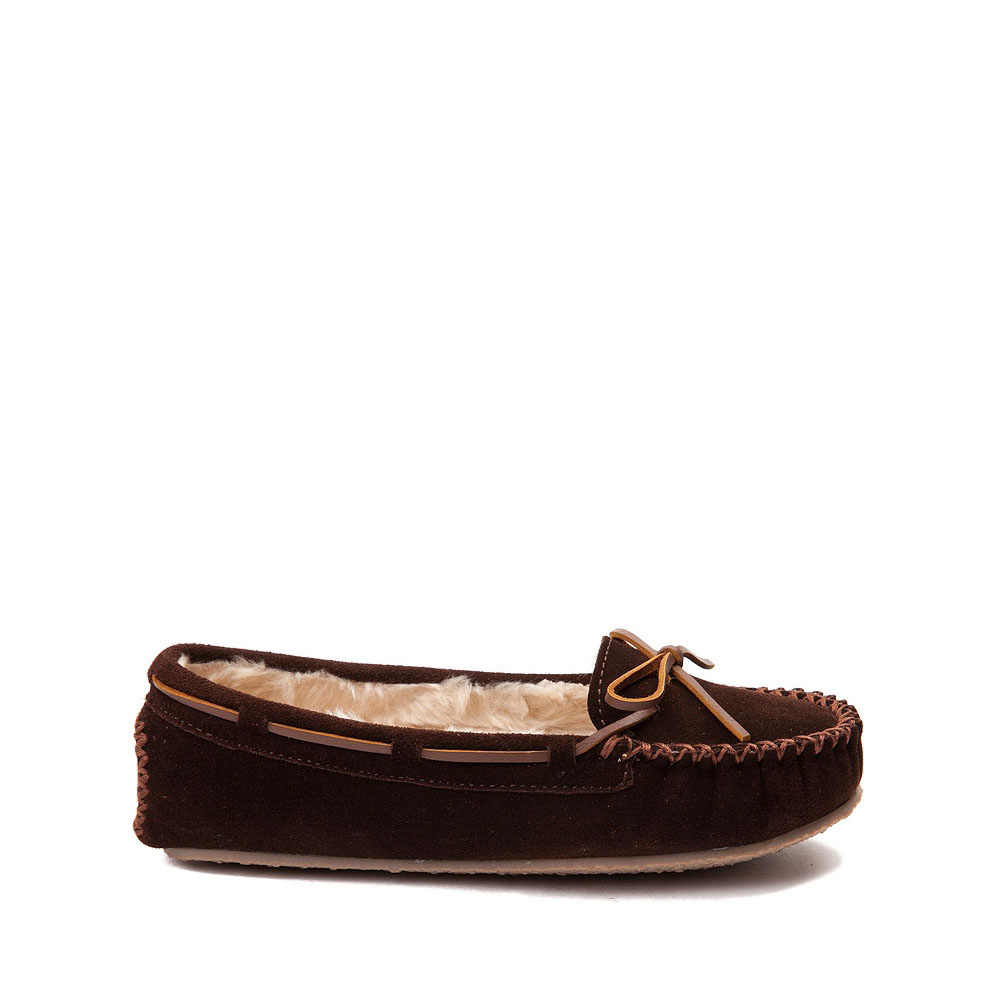 Womens Minnetonka Cally Casual Shoe - Chocolate