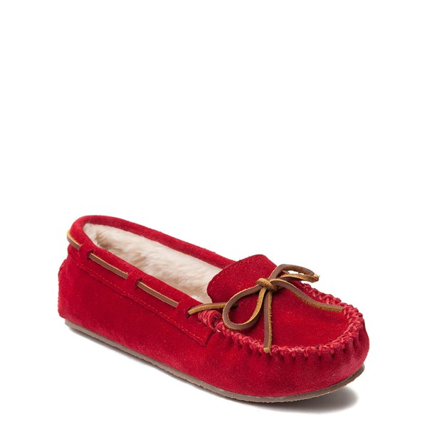alternate view Womens Minnetonka Cally Casual Shoe - RedALT1