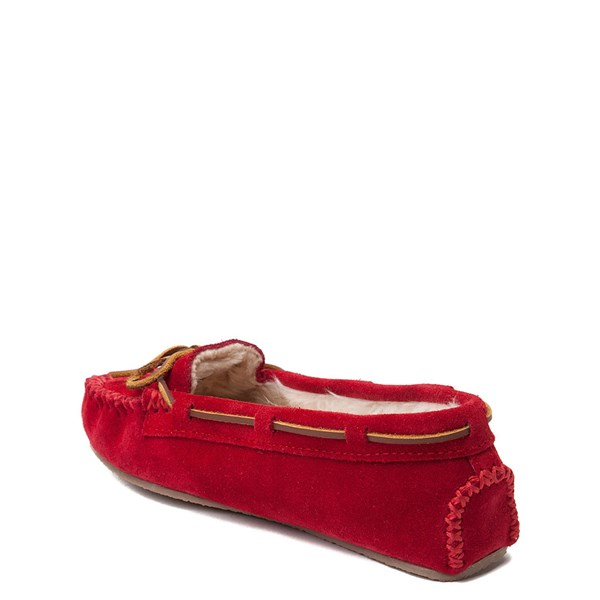 alternate view Womens Minnetonka Cally Casual Shoe - RedALT2