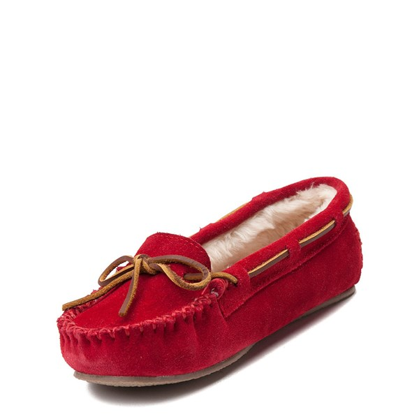 alternate view Womens Minnetonka Cally Casual Shoe - RedALT3