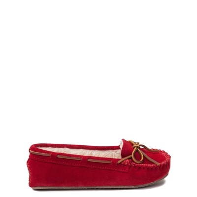 Main view of Womens Minnetonka Cally Casual Shoe - Red