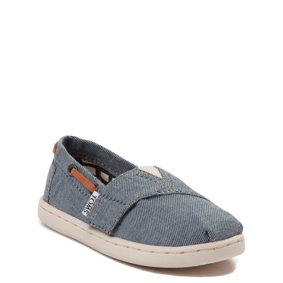 Alternate view of Toddler TOMS Bimini Chambray Casual Shoe