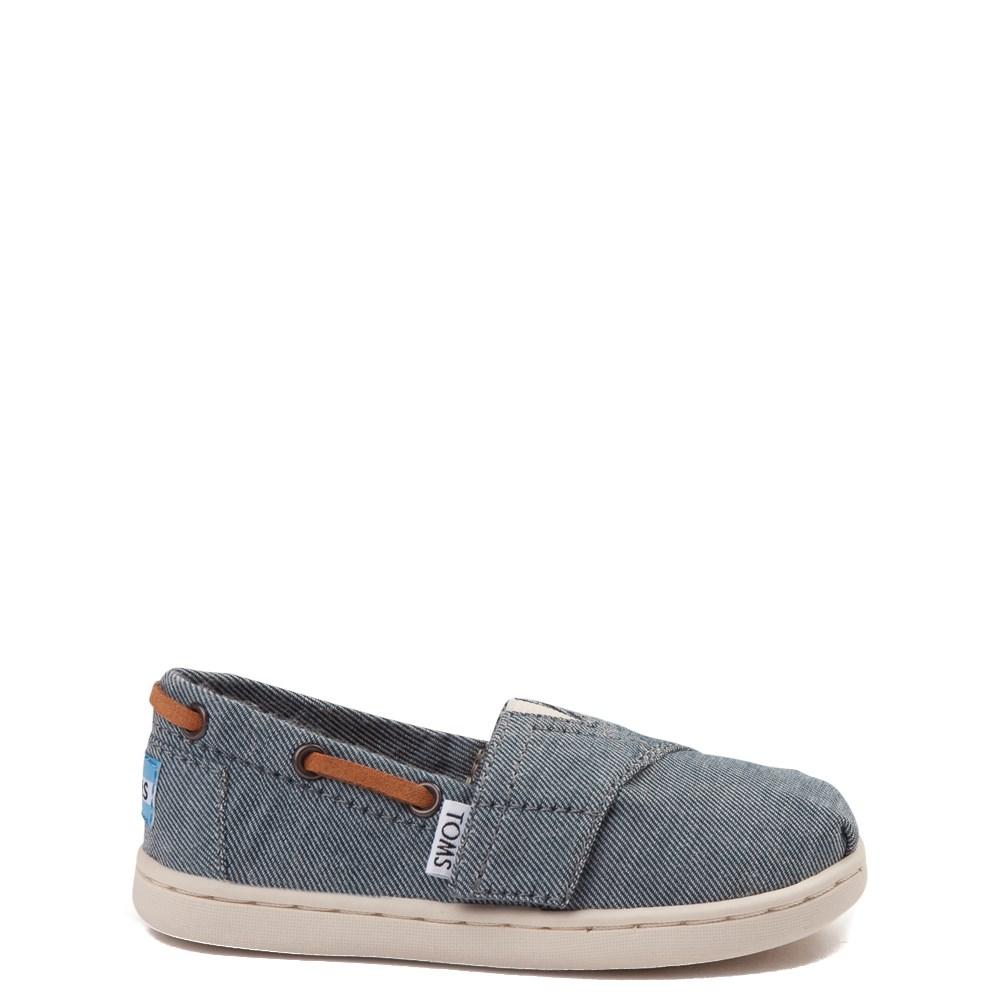 Toddler TOMS Bimini Chambray Casual Shoe