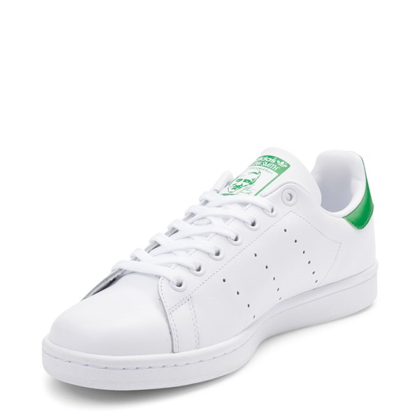 alternate view Mens adidas Stan Smith Athletic Shoe - White / GreenALT3