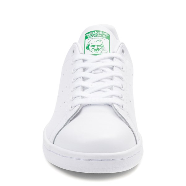 alternate view Mens adidas Stan Smith Athletic Shoe - White / GreenALT4