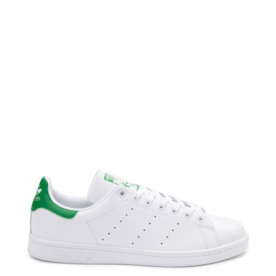 Main view of Mens adidas Stan Smith Athletic Shoe - White / Green