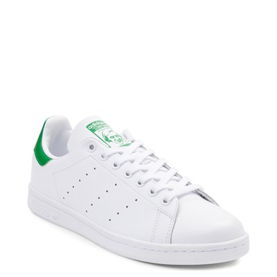 Alternate view of Mens adidas Stan Smith Athletic Shoe - White / Green