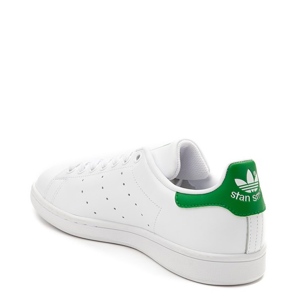 alternate view Womens adidas Stan Smith Athletic Shoe - White / GreenALT2