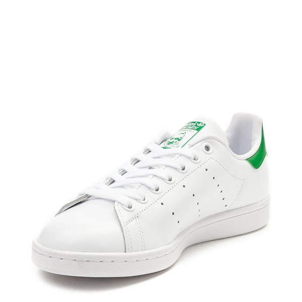 alternate view Womens adidas Stan Smith Athletic Shoe - White / GreenALT3