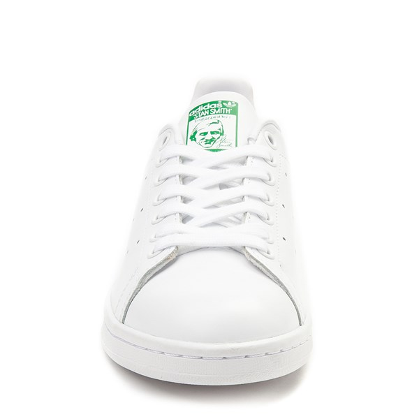 alternate view Womens adidas Stan Smith Athletic Shoe - White / GreenALT4