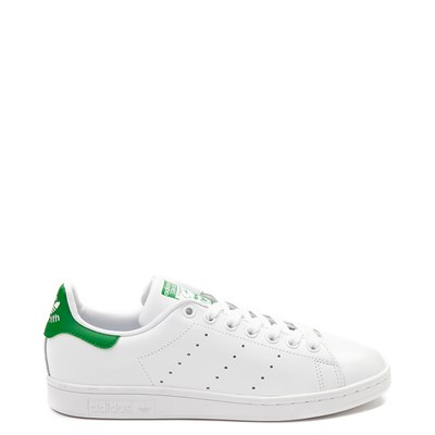 Main view of Womens adidas Stan Smith Athletic Shoe - White / Green
