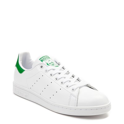 Alternate view of Womens adidas Stan Smith Athletic Shoe - White / Green