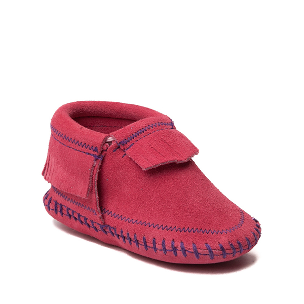 alternate view Minnetonka Riley Bootie - Baby / Toddler - PinkALT5
