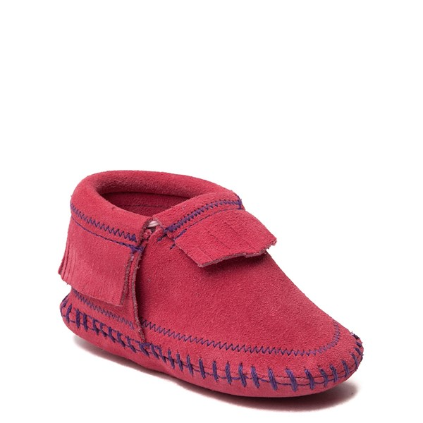 alternate view Minnetonka Riley Bootie - Baby / Toddler - PinkALT1