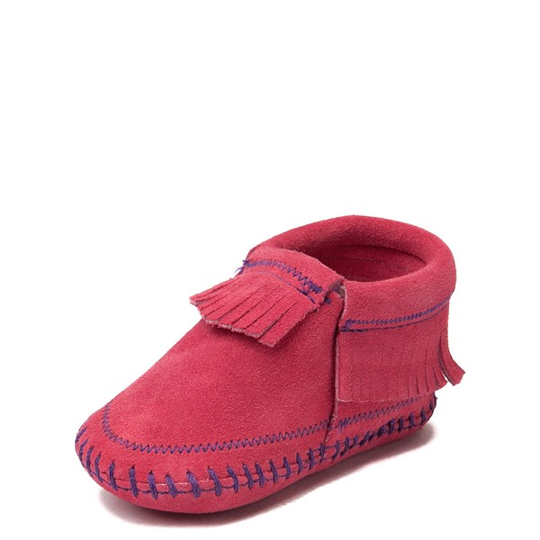 alternate view Minnetonka Riley Bootie - Baby / Toddler - PinkALT3