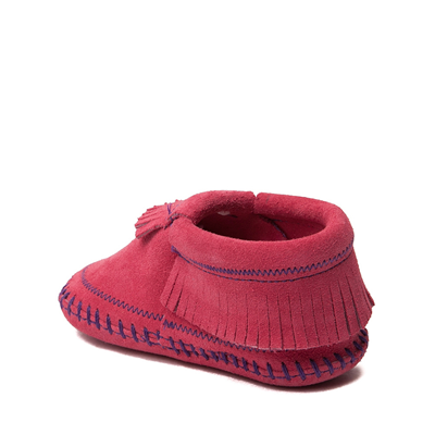 Alternate view of Minnetonka Riley Bootie - Baby / Toddler - Pink