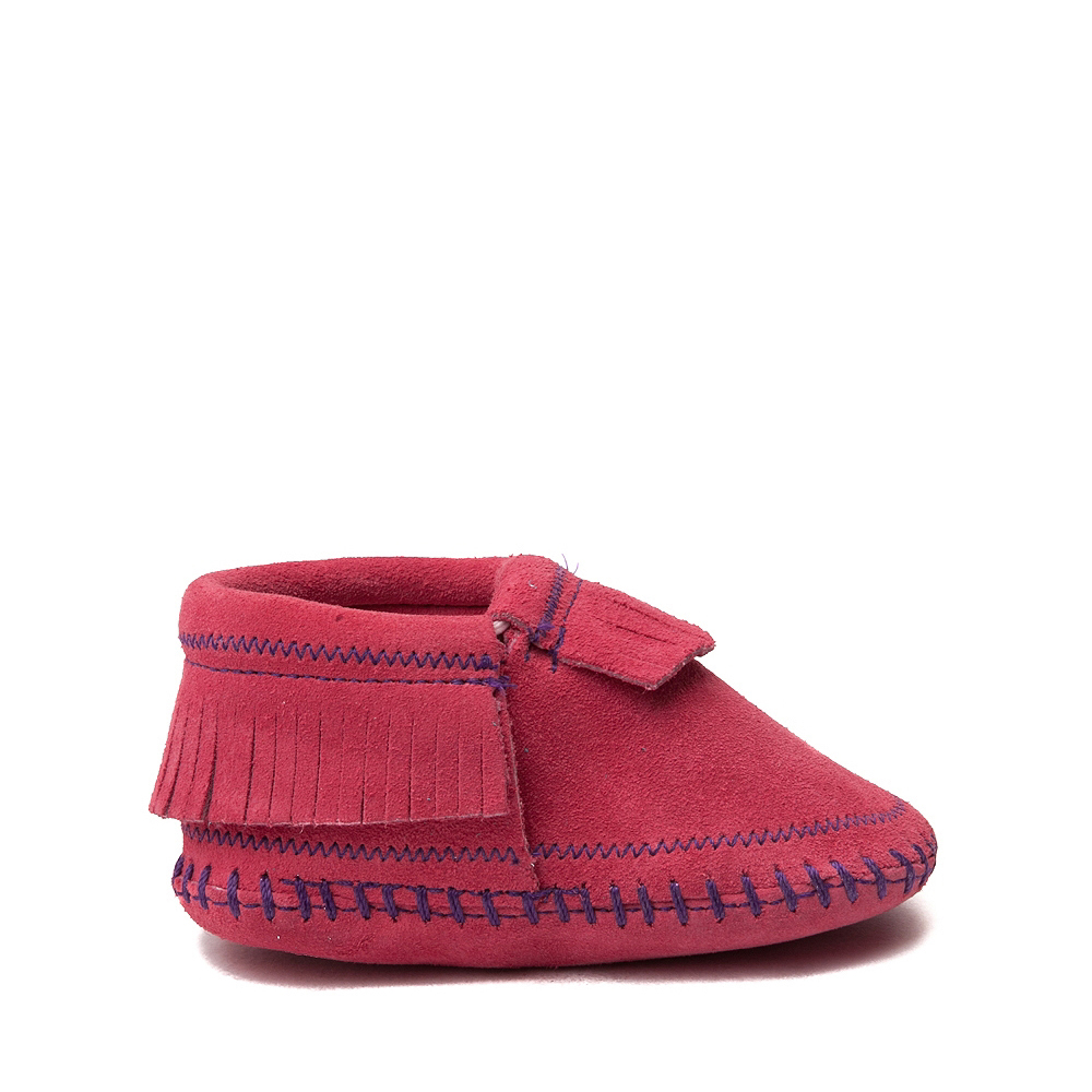 Minnetonka Riley Bootie - Baby / Toddler - Pink