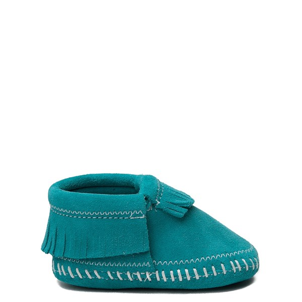 Main view of Minnetonka Riley Bootie - Baby / Toddler - Turquoise