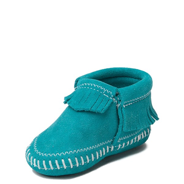 alternate view Minnetonka Riley Bootie - Baby / Toddler - TurquoiseALT3