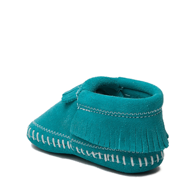 Alternate view of Minnetonka Riley Bootie - Baby / Toddler - Turquoise