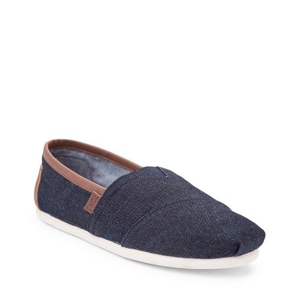 Alternate view of Mens TOMS Classic Denim Slip On Casual Shoe