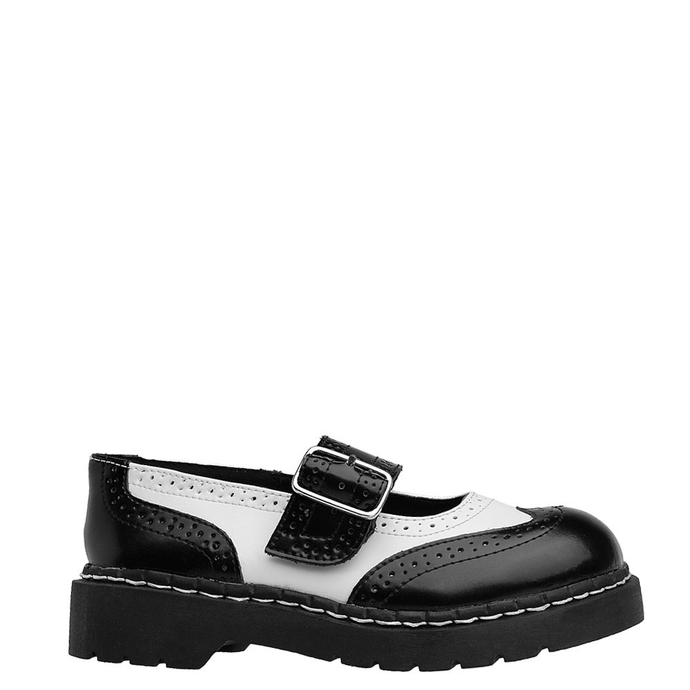 Womens T.U.K. Brogue Mary Jane Casual Shoe