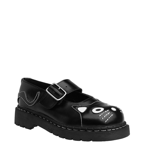 alternate view Womens T.U.K. Kitty Mary Jane Casual Shoe - BlackALT1