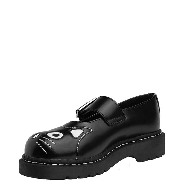 alternate view Womens T.U.K. Kitty Mary Jane Casual Shoe - BlackALT3