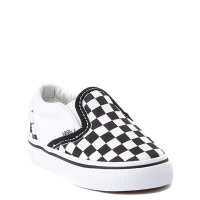 Alternate view of Toddler Vans Slip On Chex Skate Shoe