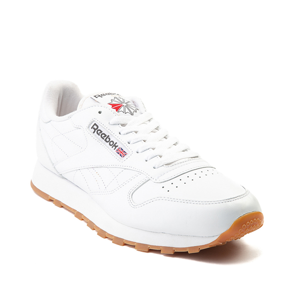 alternate view Mens Reebok Classic Athletic Shoe - WhiteALT5