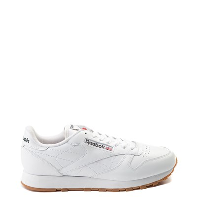 Main view of Mens Reebok Classic Athletic Shoe - White