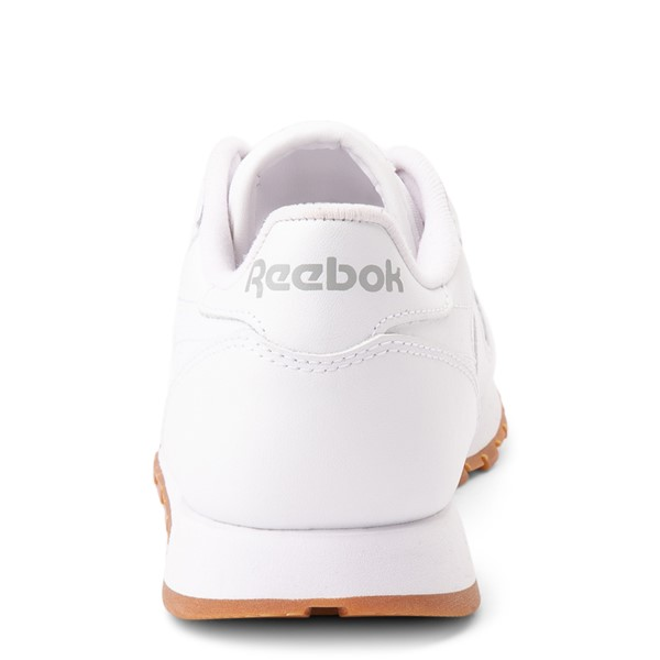 alternate view Womens Reebok Classic Athletic Shoe - White / GumALT4