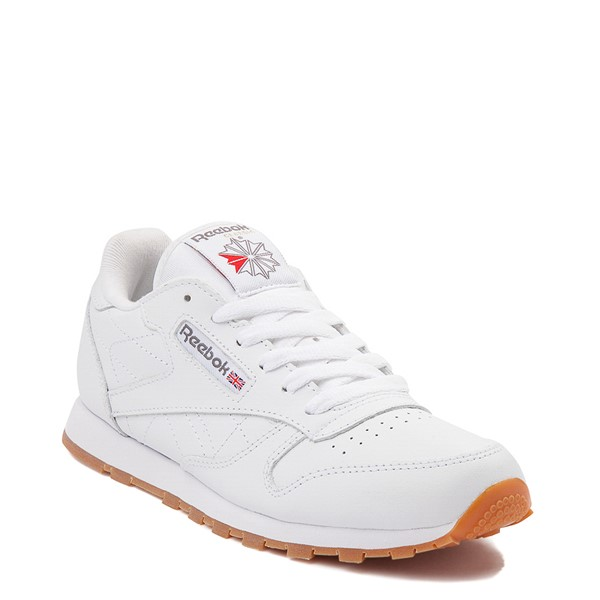 alternate view Womens Reebok Classic Athletic Shoe - White / GumALT5